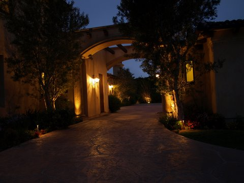 agoura california exterior lighting
